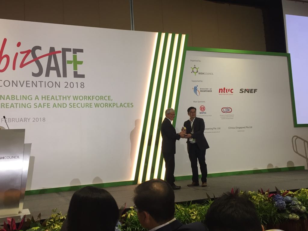 <p>We are ultra proud to be award the BizSafe Award for workplace safety. It is a testament to our continued belief of doing great work and ensuring staff safety.</p>
